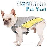 Hawkimin adidog Pullover Haustier Hund kalte Weste Sommer atmungsaktiv Haustier Hitzschlag Kühlanzug