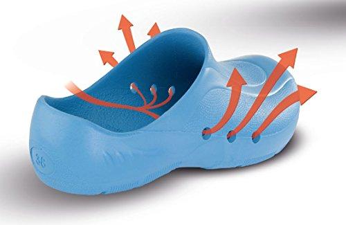 Schürr ORTHOClogs OP-Schuh mit und ohne Fersenriemen Unisex Blau