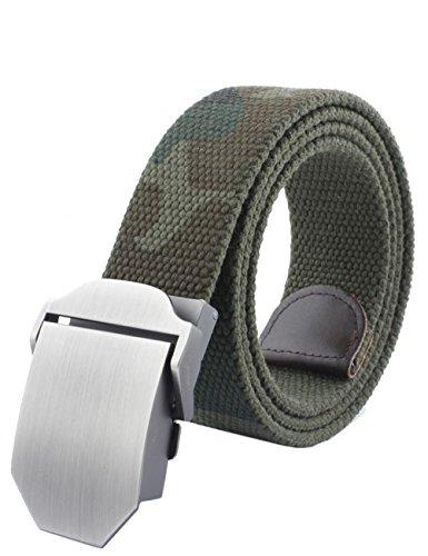 menschwear-mens-adjustable-cotton-canvas-belt-metal-buckle-military-style-45-120cm-camouflage