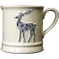 njhswlti Taza de café/Taza/Taza/Taza de café de los Ciervos tridimensionales