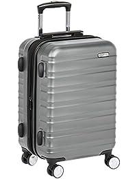AmazonBasics - Hochwertiger Hartschalen-Trolley mit Schwenkrollen und eingebautem TSA-Schloss