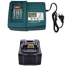 1pcs 18V 3.0Ah MAKITA batería BL1830BL1860BL1850. BL1840con 1pcs 1.5A Cargador para Makita DC18RA DC18SC dc1803dc14sa DC1804