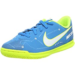 on sale 71f18 857cb Nike Jr Mercurialx Vortex III Sx IC, Zapatillas de Fútbol Unisex Niños,  Azul (