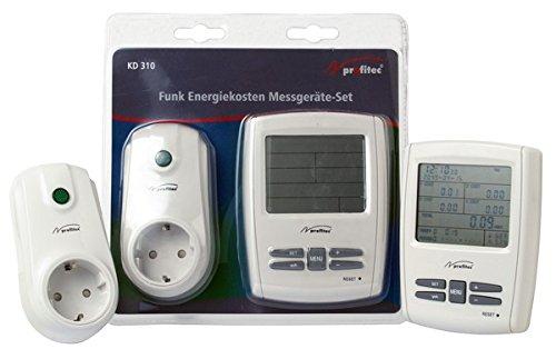 Profitec KD 310 Funk Energiekosten Messgerät Set (1x Station + 1x Messsender)