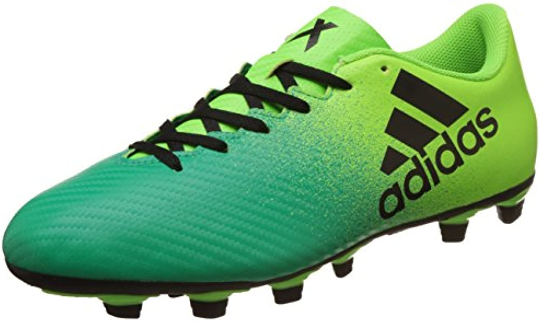 adidas X 16.4 FxG - Botas de fútbol para Hombre, Verde - (VERSOL/NEGBAS/VERBAS) 42 2/3