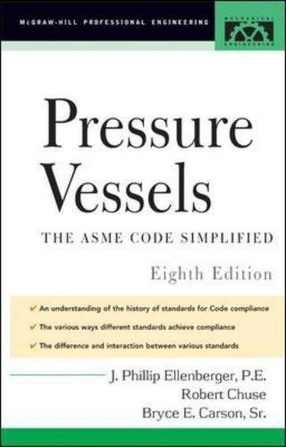 Pressure Vessels: ASME Code Simplified