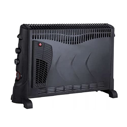 Kingavon BB-CH506 2kW Convector Heater with Turbo and Timer – Black