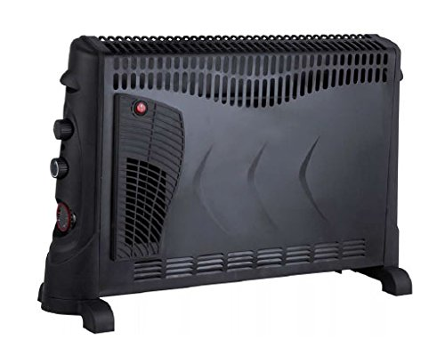 41aY3qqg8XL - Kingavon BB-CH506 2kW Convector Heater with Turbo and Timer - Black