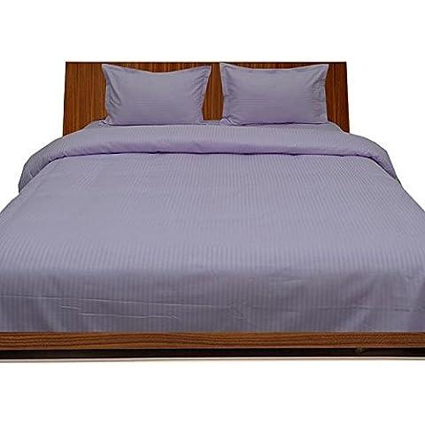 550fogli di fili, Euro King IKEA Argento Grigio a righe Cotone 100% da cotone egiziano Biancheria da letto