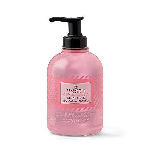 Fine Perfumed Line Bath Sapone Liquido al Muschio, 300 ml - 1 Unità