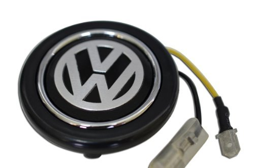 vw-volkswagen-silver-on-black-steering-wheel-horn-button-crest-for-jetta-passat-tiguan-cc-touareg-go