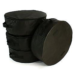 Reifentaschen - set 14''- 17'' XXL 4 Stück Reifenaufbewahrung Reifenschutzhülle Reifenbezug Schonbezug [set 4]
