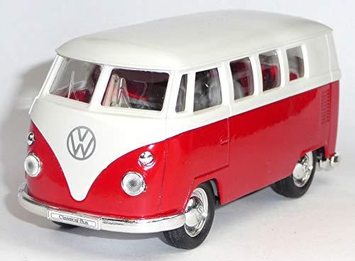 Welly VW Bulli Bus 1963 T1 Modellauto 12 cm Classical Bus Modell Bully, Variante wählen:56/0041 VW Bus T1 rot