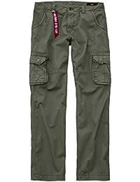 Alpha Industries Hose Jet Pant, Farbe:olive, Größe:32