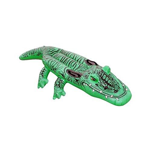 203x117 cm Reittier Krokodil ca Kinderbadespaß