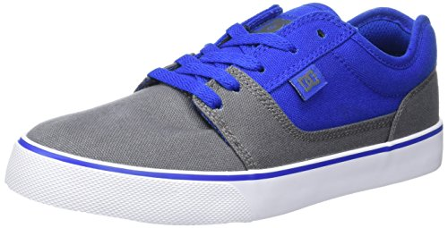 DC Shoes Herren Tonik Tx Flach Gris (Grey/Blue/White)