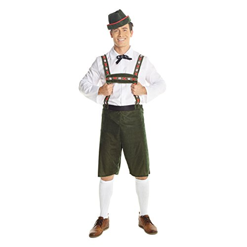 hosen Kostüm für Herren Oktoberfest Bier Outfit - X-Groß (117-122 cm Brustumfang) ()