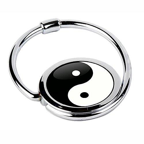 Miss KhaTaschenhaken, faltbar, Motiv Yin & Yang