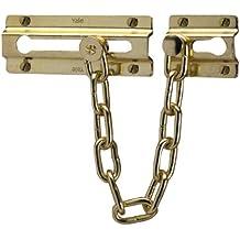 Yale Locks P1037PB - Cadena de seguridad para puerta, color latón [Importado de Reino Unido]