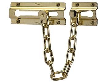 Yale Locks P1037PB Door Chain - Brass Finish  sc 1 st  Amazon UK & Yale Locks P1037PB Door Chain - Brass Finish: Amazon.co.uk: DIY ... pezcame.com