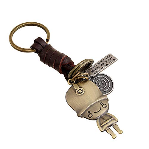 Xcsysq Elegante Schlüsselbund Legierung Schlüsselbund Gut Aussehend Meng Legierung Soldat Schlüsselbund High-End-Boutique Student Männer Und Frauen Schlüssel