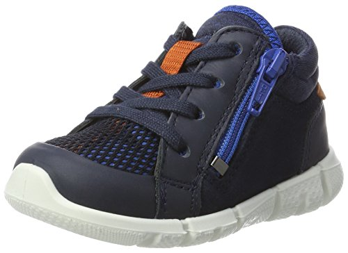 Ecco Baby Jungen Intrinsic Mini Klassische Stiefel, Blau (Marine/Marine/Bermuda Blue), 20 EU (Klassische Bermuda)