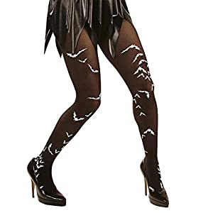 WIDMANN 2030b Leotardos murciélagos, Color Negro