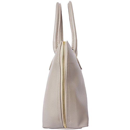 FLORENCE LEATHER MARKET Borsa business per donna in pelle Saffiano 308 (Tortora)
