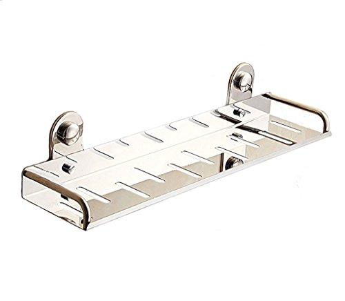 LI JING SHOP - Libero Foratura scaffalature in acciaio inox da bagno vassoio da bagno (Famiglie Luce Ciondolo Pendente)