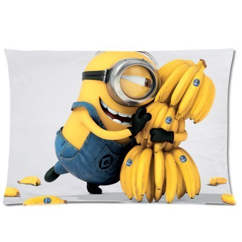 Custom Despicable Me Pillowcase Standard Size 16x24 Soft Pillow Cover Case Two Sides