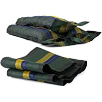 Ampel 24, Sacos de arena con mango y tirante | kit de 6 sacos vaciós tejidas en monofilamento | contrapeso para jardín o camping