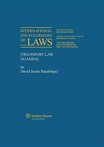 Transport Law (International Encyclopaedia of Laws)