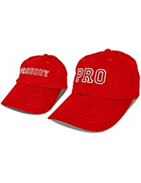 9a6a2726282 DALIX Father Son Hats Dad and Son Matching Caps Embroidered Pro prodigy