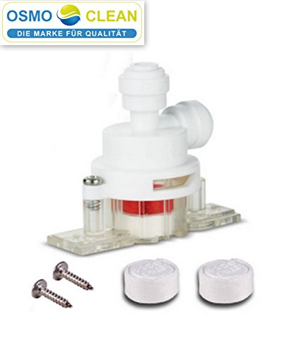 JG Wasserstop Aqua-Stop mechanisch 1/4 Zoll für Osmoseanlagen/Wasserfilter/SBS Kühlschrank NEU