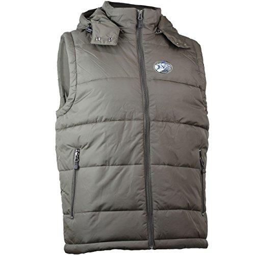 Raven veste sans manches pour homme avec logo sur base jN1004 vert - Boue
