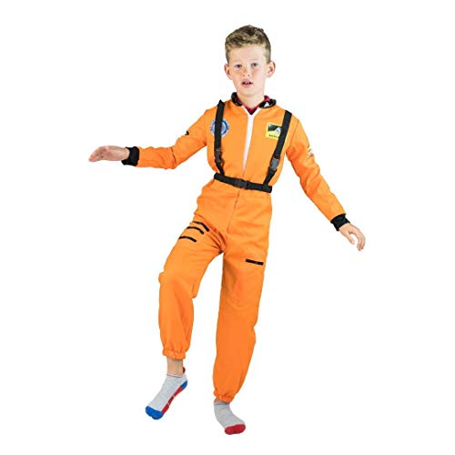 Bodysocks®  Astronautenkostüm für Kinder (8-10 - Neil Armstrong Kostüm