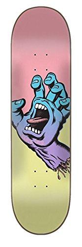 Santa Cruz Skate Pastell Screaming Hand 21x 80,8cm Skateboard Deck