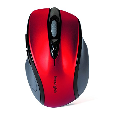 Kensington K72422WW Pro Fit Mid-Size Wireless Maus (2,4GHz, 1750dpi) Ruby -