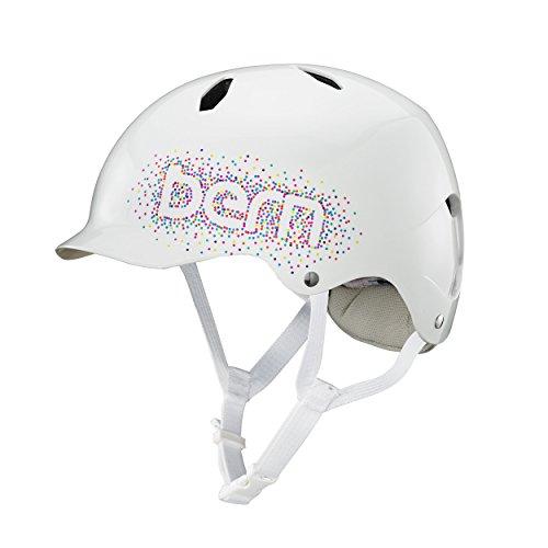Bern Kinder Kinderhelm Bandita Helm weiß-glänzend Gr. S/M (51,5-54,5cm) Preisvergleich