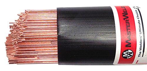 masterweld w.0320–24NI10,01Nickel niedriglegierte Stahl TIG Filler Rod, 5kg, 2,4mm Durchmesser (24 Rod)