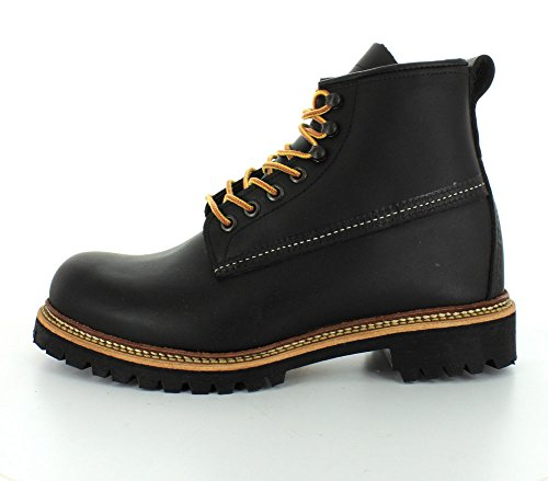 Red Wing Mens Ice Cutter 2930 Leather Boots Noir