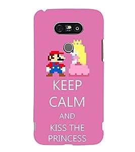 Fuson Designer Back Case Cover for LG G5 :: LG G5 Dual H860N :: LG G5 Speed H858 H850 VS987 H820 LS992 H830 US992 (Mario Super Mario Mario Man Queen Game)