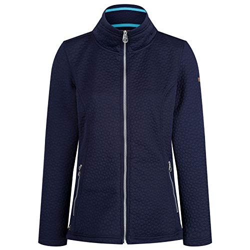 Regatta Womens Subira Full Zip Quilted Jersey Fleece Jacket -