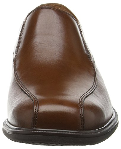 Rockport Essential Details Ii Bike Toe, Mocassins Homme Marron - Brown (Tan Antique Leather)