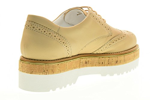 HOGAN scarpe donna inglesine con piattaforma HXW3170W030DU0M024 H317 Rosa antico