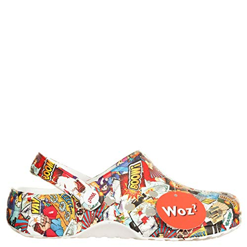 look out for classic style official site Woz? Sabot Cheese Popcom Multicolore, Gomma, 37 D