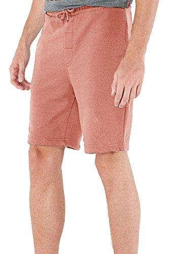 hommes-jogging-shorts-par-brave-soul-tarley-rose-hivernal-taille-m-tour-de-taille-81-86-cm