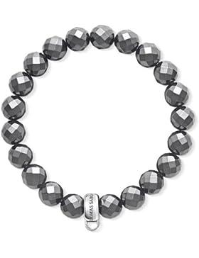 Thomas Sabo Charm-Armband Hämatit X0187-064-11