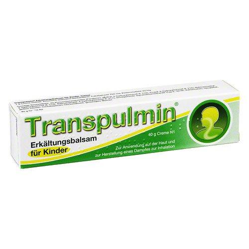 Transpulmin Erkältungsbalsam für Kinder Creme, 40 g