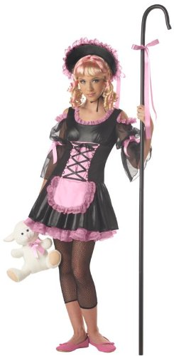 ferin Girl Mädchen Kinder Fasching Karneval Kostüm Costume 140-152 (Disney Bo Peep Kostüm)